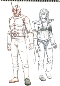 Red_Sonja&Masked_Rider